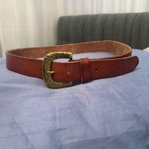 Genuine Leather Anthropologie Belt